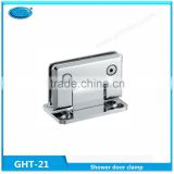 Supply factory price Bevel Fillet stainlsss steel 90 degree two side glass shower door pivot hinges