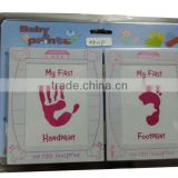 Girl Baby First Hand & Foot Print Photo Frame ZD11P