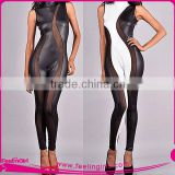 Large Stock Sexvy Full Leather And Latex Bodysuits For Women