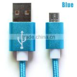 1m Original color optional 8Pin USB cable Charger Data Sync Adapter Cable/cord/wire For iPhone 5 5s 6 6s Plus