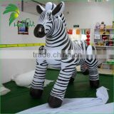2016 Hot Sale Giant Inflatable Zebra / Inflatable Cartoon Horse Toys For Sale From Hongyi