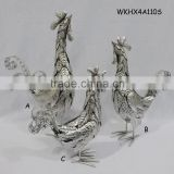 Metal chicken handmade outdoor festival decoration
