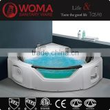 Q312 luxury acrylic portable pedicure spa tub