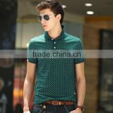 Wholesale custom cheap new design and dry fit men polo t shirt made in China