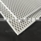 Fireproof 2x2 Aluminum Perforated Metal Acoustic False Ceiling Designs for Hall Office Interior Decoratice Material