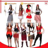 black and white party pirate costumes sexy rental carnival costumes for women