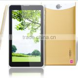 cheapest 7inch mtk8312 tablet pc with dual sim slots 3g phone calling function tablet pc with leather case cover