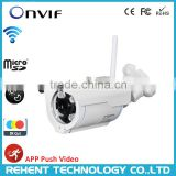 128G TF Card Outdoor EZLink WiFi Night Vision HD Onvif IP Network Camera with Reset Button