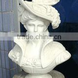 Art jade sculptures female marble busts for sale