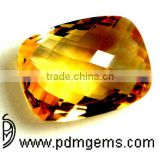 Citrine Semi Precious Gemstone Cushion Briolette For Diamond Jewellery From Manufacturer/Wholesaler
