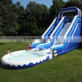 giant adult pvc tarpaulin inflatable water slide parts