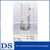 pilsner glass cup, beer glass cup , glass cup with glass handle