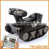 LT-728 WiFi RC Tank with Camera for iOS and Android, 6 LED Spotlight, Video, Photographs and Monitoring Eavesdropping