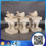 Wholesale animal statue library bookend stone bird bookends home decoration