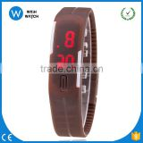 LED008/China Men Wristwatch New Sports Children Bracelet LED Watch Sport Watch Fashion Digital Watch Colorful Rubber