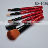 2014 high quality fashion makeup brushes Makeup brush sets for badger hair shaving brush