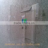 Fabrication of Transparent/Clear polycarbonate sheet for Mechanical Cover Bending Drilling/Machine guard