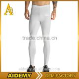 Stylish mens sports legging compression pants fitness collant compression tights