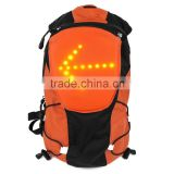 2016 Latest Wireless LED Pilot Lamp Turn Signal Light Backpack 5L With Remote Control for Bike/Hiker Traffic Safety