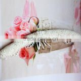 Beautiful White Lace Padded Hanger for Wedding Dress, for Bride