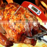 Long Probe LCD Screen Digital Stainless Baby Milk BBQ Meat Cooking Thermometer with Instant Read