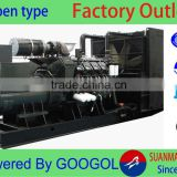 Direct sale CE approved 300kw small electric diesel power generator set with Googol engine