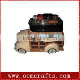 Rare high grade car shaped decorative cookie jars