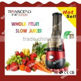 2016 home appliances whole Slow Juicer, smoothie maker as seen on tv, smoothie maker, industrial cold press juicer, manual juice