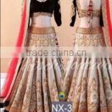 Remarkable Off White Georgette Designer Lehenga Choli/Online shopping for Indian lengha choli