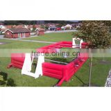 Inflatable human baby foot/Adults Table football pitch/Kids Inflatable babyfoot soccer/Inflatable foosball pitch cheap