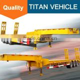 40 ft 3 axle 70t 80t low bed semi trailer dimensions for sale in africa