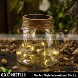 Good Quality Bottle Light Water Bottle With Led Light Glass Sun Jar for Decoration