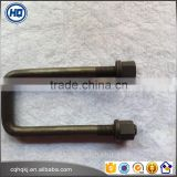NO.1 High Tensile Cold- Forging SGS Certified Factory Price Leaf Spring U-Bolts for DongFeng EQ140 Front