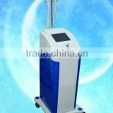 5.2 inches blue button screen RF beauty machine for face chin lift striae gravidarum wrinkle removal anti-aging with CE