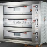 Stainless Steel 430 three layers 9 trays arabic bread oven price