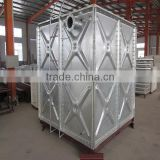 water filter tank , Large volume hot dip galvanized steel water filter tank, Water filter tank used in farm land