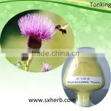 ISO/HACCP factory supply Liver health milk thistle extract, silybum marianum extract, silymarin 80%