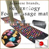 Compact acupressure massage machine foot massage mat with multiple functions