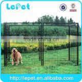 wholesale Large outdoor galvanized enclosure for dog/chain link dog kennel lowes/dog run kennel