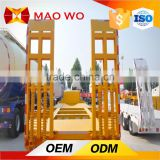 High Quality Transportation Truck and Used Tandem Axle Lowbed Semi Trailer