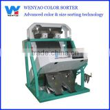 2 chutes Recycled HDPE CCD color sorter machine in China