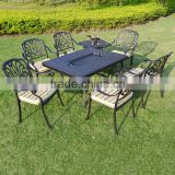 garden furniture outdoor line patio furniture luxury garden furniture Barbecue metal outdoor table