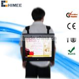 17inch hot sale new design backpack portable led inflatable billboard advertising for sale