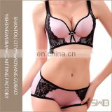 Woman sexy fancy stylish bra and panty set underwear