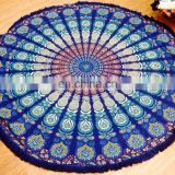 Indian Round Mandala Beach Throw Hippie Yoga Mat Towel Tassle Picnic Roundie Art online sales alibaba 2015