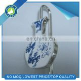 Chinese antique blue and white porcelain bottle shape bookmark