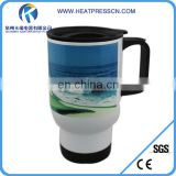 Factory Directly Sublimation Wwhite Travel Mugs