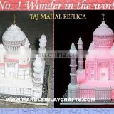 Luxurious Marble Taj Mahal Replica Gift