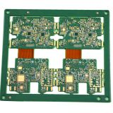 Customized Immersion Gold 6 Layer Rigid-flex PCB From Shenzhen Manufacture