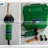 1600W handheld industrial PVC plastic hot air welder / heat gun for sale